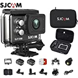 SJCAM SJ7 Star Kit SJ7 Camera with Accessories, SJCAM Protective Bag Real 4K Action Camera Wifi Waterproof Underwater Camera Ambarella Chipset 30FPS/Sony Sensor 12MP Gyro Stabilization-Black