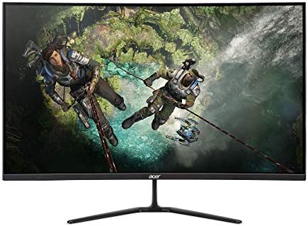 "Acer ED320QR Sbiipx 31.5"" 1800R Curved Full HD (1920 x 1080) Monitor // 165Hz Refresh Rate / 1ms Response Time/Contrast Ratio: 4,000:1 / AMD Radeon FreeSync (Display Port & 2 x HDMI Ports)"