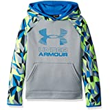 Under Armour Boys Fleece Printed Big Logo Hoodie