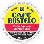 Café Bustelo Espresso Style Dark Roast Coffee, 72 Keurig K-Cup Pods