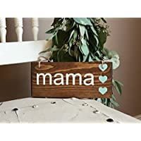 Small Mom Sign, Gift For New Mom, New Mom Gift, Mama Gift, Mama Bear, Expectant Mom, New Mama, Mom Surprise, Pregnancy Announcement, Mother