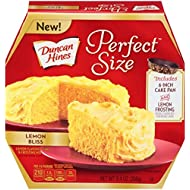 Duncan Hines Perfect Size Cake Mix, Lemon Bliss, 9.4 Ounce