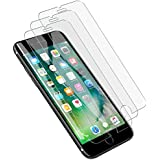 [3 PACK] LK iPhone 7 Screen Protector, [Tempered Glass] with Lifetime Replacement Warranty