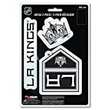 NHL Team Decal, 3-Pack