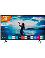 "Smart TV LED 58"" 4K UHD Crystal Samsung UN58TU7020GXZD, Visual Livre de Cabos, Bluetooth, Processador Crystal 4K, 2 HDMI, 1 USB"