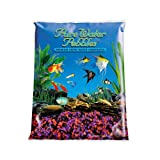 Worldwide Pure Water Pebbles Aquarium Gravel, 5-Pound, Neon Cherryberry