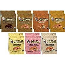 Honey Stinger Waffle Variety Sampler Pack - 14 Waffles, 2 of Each Flavor