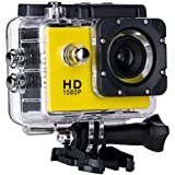 SJ4000 Full HD 1080P Camera 12MP 30M Waterproof Sports Action Camera DV CAR DVR Support SD To 32GB (Yellow)