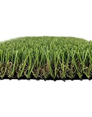 """Artificial Grass Turf, 1.18""""/30mm Pile High, Realistic Indoor Outdoor Garden Lawn Landscape Patio Pet Pad Dog Synthetic Turf Mat with Drainage Holes, 3.28FTX6.56FT, 3.28FTX13.12FT (43.06 Square FT)"""