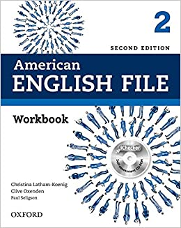 American English File 2nd Edition 2. Workbook without
