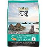 CANIDAE Grain Free PURE Sea Cat Dry Formula with Fresh Salmon, 5 lbs