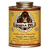 Gorilla Pvc Cement Low VOC 4 Oz Clear