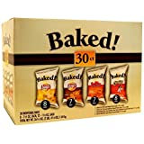 Lays Oven Baked Potato Chips Variety Pack, 30 Count by Lays Oven Baked