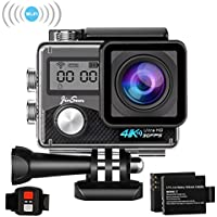 JinSun 4K WiFi 16MP 30m Sports Underwater Waterproof Action Camera