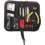 Guitar Repair Kit,AMZZ Set of 14pc Repair & Maintenance Tools With Guitar Needle File/String Action Ruler Gauge/Guitar String winder and cutter/Guitar Wrench For Acoustic Guitar Ukelele Banjo