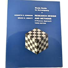 Research Design & Methods: A Process Approach