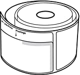 """6 Rolls of White 2-1/4""""x7-1/2"""" Dymo Compatible"""