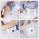 Cushion Lab Extra Dense Orthopedic Knee Pillow for