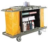 "Hotel Cart Housekeeping Room Service Cart H 39"" x W 58"" X D"