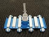 "Aquatix Pro Pool Vacuum Head with Wheels, 14"" Heavy"