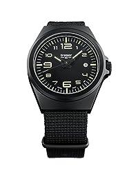 traser P59 Essential M Black Dial Black Nylon Strap Mens Watch 108218