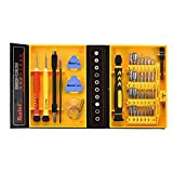 Kaisi 38 In 1 Precision Bit Screwdriver Screwdriving Screw Driver Multipurpose Repair Tool Set Kit for Iphone/iPad/iPod/Laptop/PC/Macbook/Wii/PSP/Mobile/Cell Phone/Watch/PDA/Cameras/Other Devices (KS-3801)