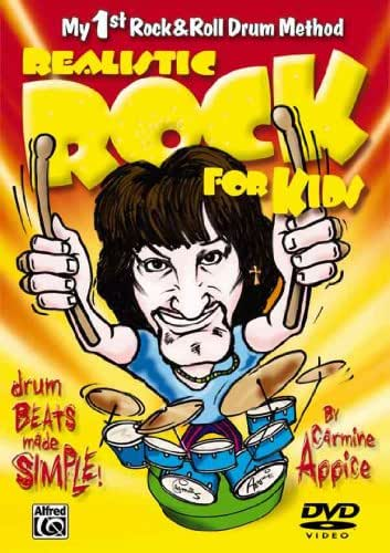 Realistic Rock for Kids (My 1st Rock & Roll Drum Method): Drum Beats Made Simple!