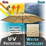 BenefitUSA Replacement Umbrella Canopy Cover for