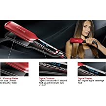 titanium Ceramic Remington s9620 2' Flat Iron 110~240V Hair Straightener Straightening work with brazilian hair