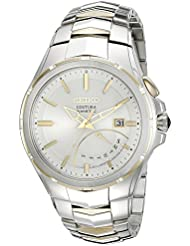 Seiko Mens SRN064 Coutura Kinetic Retrograde Two-Tone Stainless Steel Watch