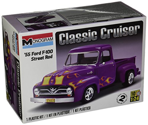 Revell 1:24 55 Ford F-100 Street Rod (Model Rod Plastic)