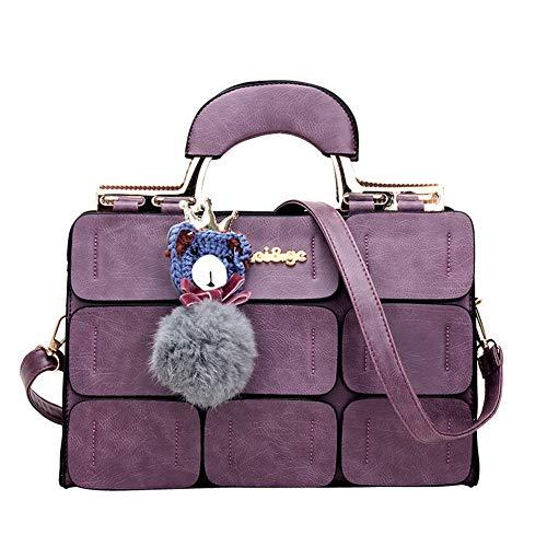 Tasca A Ciondolo funzionale Forma Donna Clutch Da Ciondolo Square Elegant Donna Con Da A Fashion Tracolla Multi Purple Da Borse Di A Borse Tracolla a6H6UFqR