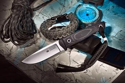 Kizlyar KK0047 Santi D2 Russian Made Tactical Knife, Satin by CAS HANWEI :: Combat Knife :: Tactical Knife :: Hunting Knife :: Fixed Blade Knife :: Folding Blade Knife