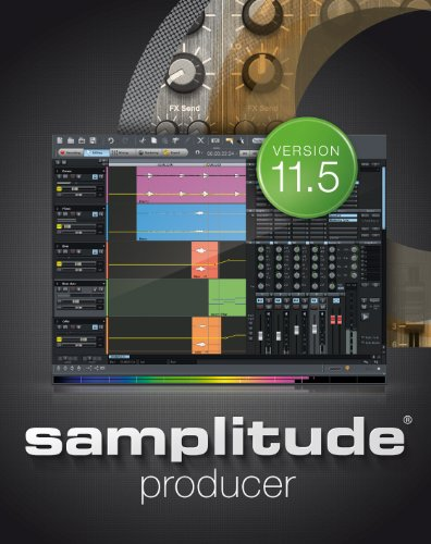 Samplitude 11.5 Producer [Download] by MAGIX