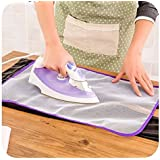 Infinity Sales And Services Insulated Ironing Pad (Purple) - Pack of 2