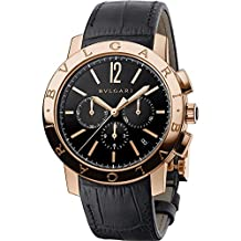 Bvlgari Men's Bulgari 41mm Rose Gold Case Automatic Watch 102044 BBP41BGLDCH