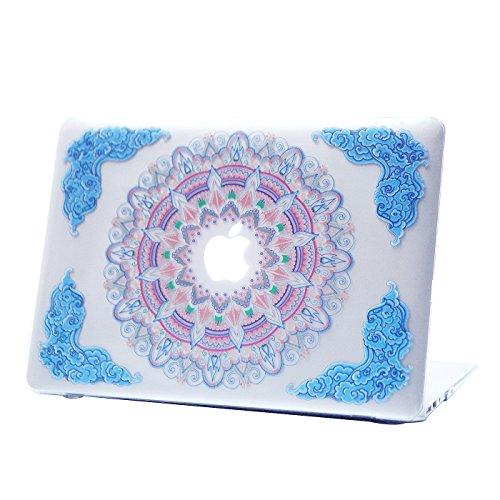 hde-macbook-air-13-case-multi-color-mandala-designer-pattern-plastic-slim-hard-shell-snap-on-case-fi