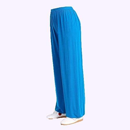 Mujer Y Hombres Pantalones De Tai Chi Traje Algodón ...