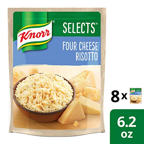 Knorr  Four Cheese Risotto Rice Side Dish 6.2 oz, Pack of 8