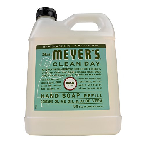 Mrs. Meyer's Liquid Hand Soap Refill, Basil, 33 fl oz ()
