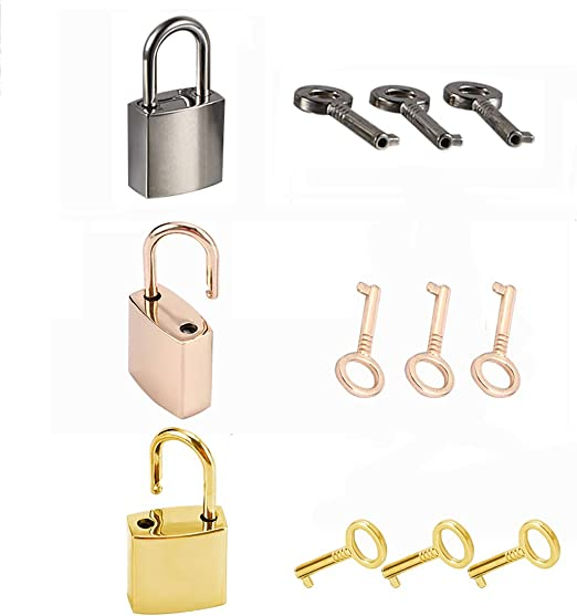 SourceOne Mini Padlocks Silver ish Pack of 30 30 Pack