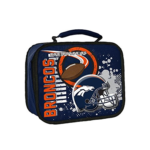 Broncos Lunch (The Northwest Company NFL Denver Broncos Accelerator Lunch Kit, One Size, Blue)