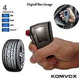 KOMVOX Digital Tire Pressure Gauge 150 PSI, Tire