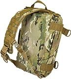 PELIGRO 4 Defense Courier Diagonal Messenger Bag con Molle, Multicam