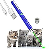 USB charging Laser pen pet cat toy wavelength 532nm, outdoor Tactics LED high