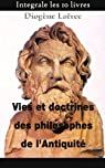 Vies et doctrines des philosophes de l'Antiquité par Laërce