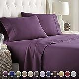 Hotel Luxury Bed Sheets Set  1800 Series Platinum Collection Deep Pocket,  Wrinkle U0026