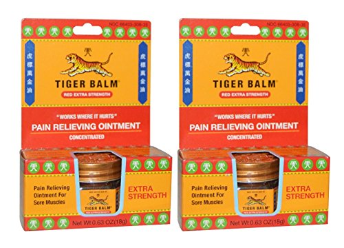 n Relieving Ointment (Pack of 2) with Camphor, Menthol, Cajuput Oil, Eucalyptus Oil, Clove Oil and Cassia Oil, 18g ()