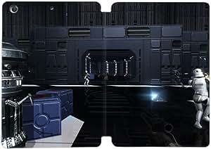 Cubierta de cuero y caja de la PC funda / soporte para funda de Apple iPad Mini 1,2,3 funda Con Magnetic reposo automático Función de despertador DIY por Star Wars Battlefront Ii D7T5Kw9H3Lq