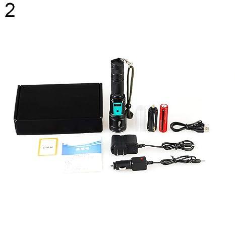 Ruby569y Linterna LED portátil, creativa, multifuncional ...